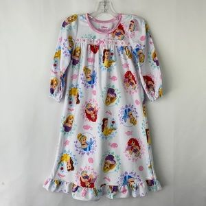 Disney princess fleece sleep gown size 3 T